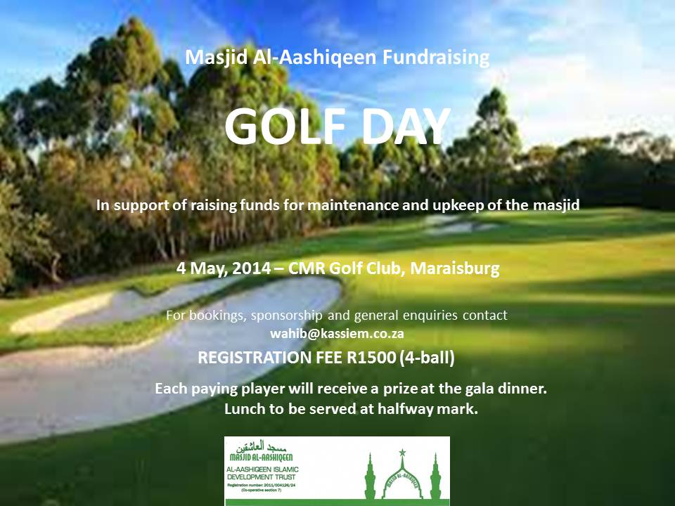 Al-Aashiqeen Golf Day Invite - update